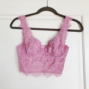Victoria's Secret Lace Bustier